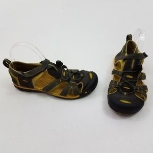 Keen SeaCamp II CNX Youth Sandals 6 Kids Yellow Gr